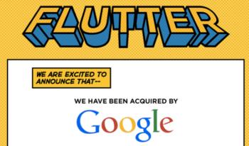 google acquired flutter